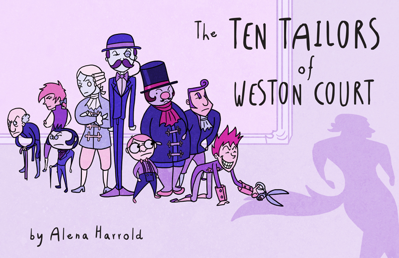 Cover ~The Ten Tailors of Weston Court~